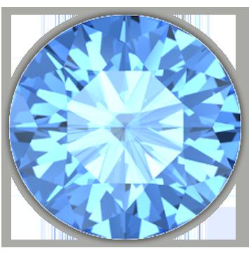 Topaz (Blue)